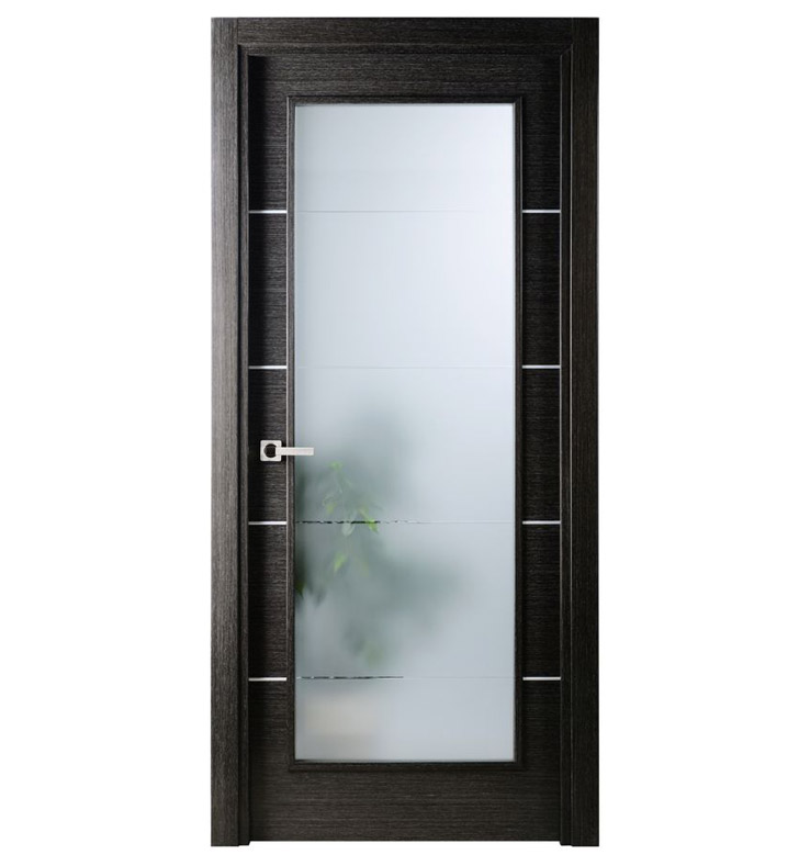 Aries Mia Ag102 Interior Door In A Black Apricot Finish With