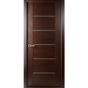 Aries AG106 Door Wenge Stainless Steel Strip