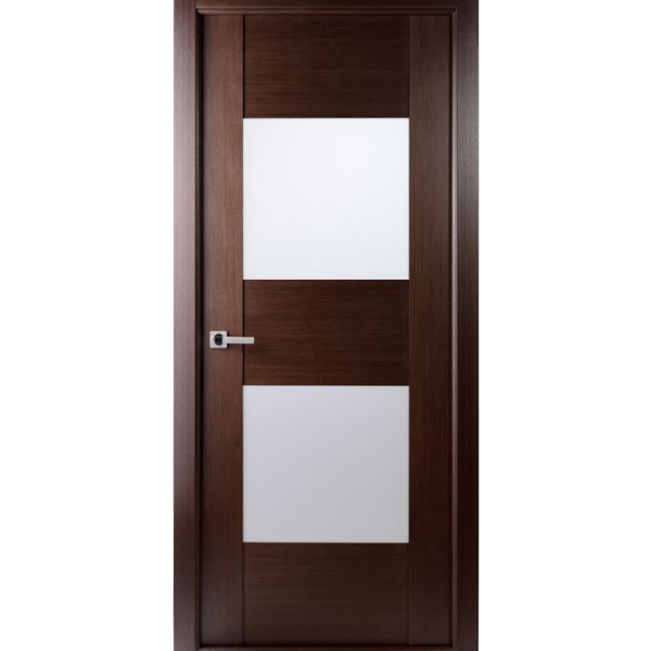 Aries Mia Ag105 Interior Door In A Wenge Finish With