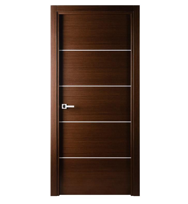 Aries A101door Wenge Stainless Steel Strip Aries Interior Doors