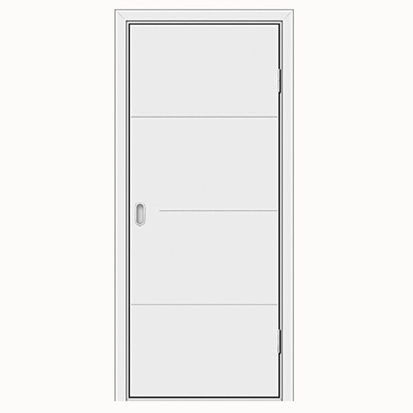 Aries-1M5 White Laminate Interior Door