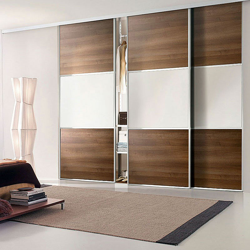 Aries Closet Door Brown And White Csd 03 Acrylic And Mdf Aries Interior Doors