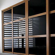 Aries-Closet-Door-,-Black-and-Brown-CSD-18-1