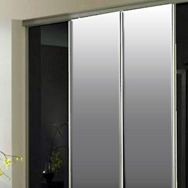 Aries-Closet-Door-,-Black-and-Silver-CSD-15-1