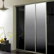 Aries-Closet-Door-,-Black-and-Silver-CSD-15