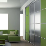 Aries-Closet-Door-,-Green-and-Silver-CSD-17