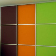 Aries-Closet-Door-Orange,-Green-and-Brown-CSD-22-1