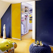 Aries-Closet-Door-Orange,-Yellow-and-Purple-CSD-23