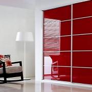 Aries-Closet-Door-,-Red-CSD-12