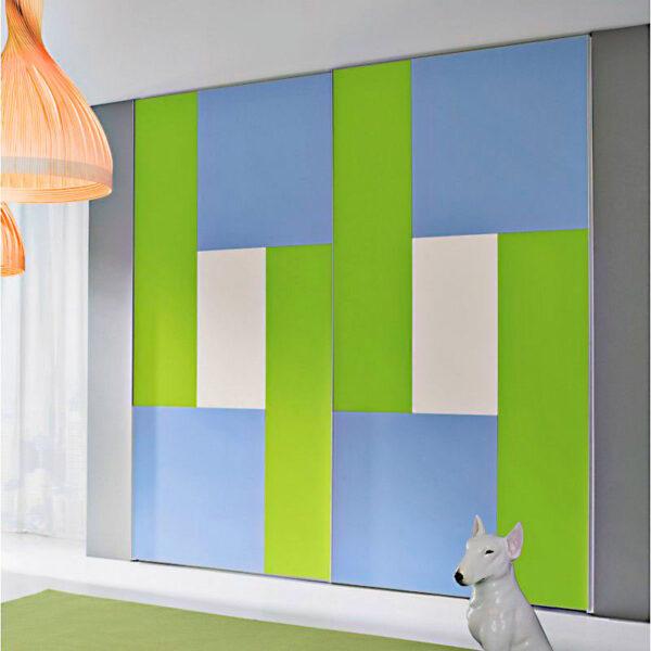 Aries-Closet-Door-blue-and-green-CSD-26 & Aries Closet Door Blue and Green CSD 26 . (Acrylic and Mdf) - Aries ...