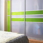 Aries-Closet-Door-,-white-and-apple-green-CSD-19