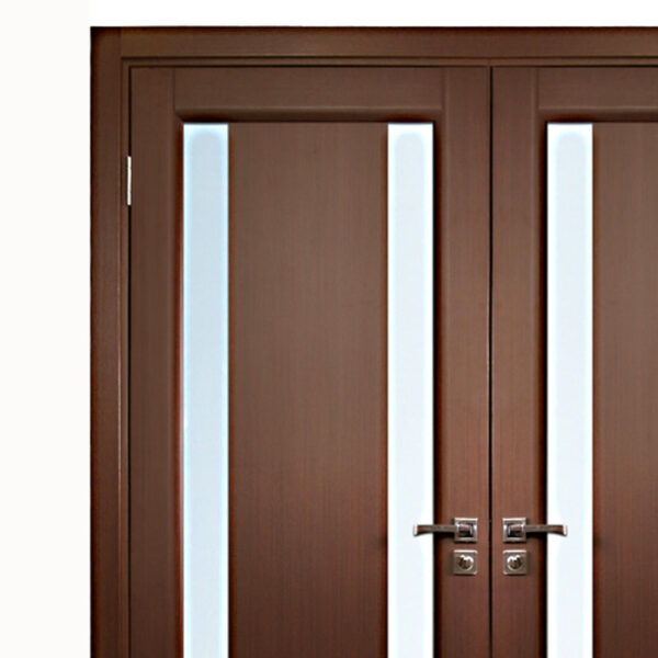 interior double door. Aries\u2013Interior-Double-Door-in-a-Wenge-Finish- Interior Double Door C