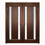 Aries–Interior-Double-Door-in-a-Wenge-Finish-with–Glass-Strip