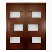 Aries–Interior-Double-Door–with–Glass-Panels