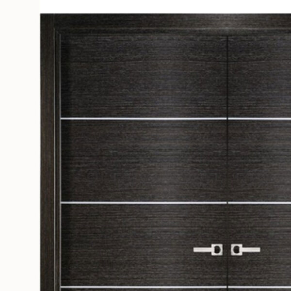 Aries-Mia–Interior-Double-Door-in-a-Black-Apricot-Finish-with-Silver-Strips-1