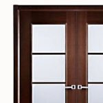 Aries-Mia–Interior-Double–Door-in-a-Wenge-Finish-with-Frosted-Glass-Panels-1