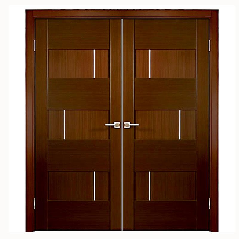 Aries Mia Interior Double Door In A Wenge Finish 1 1 2