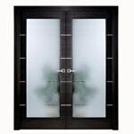 Aries-Modern-Interior-Double-Door-Black-with-Glass-Panels