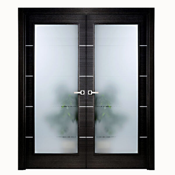 Aries-Modern-Interior-Double-Door-Black-with-Glass-Panels
