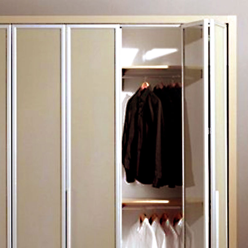 Bi Fold Closet Doors Erias Home Designs Euro And