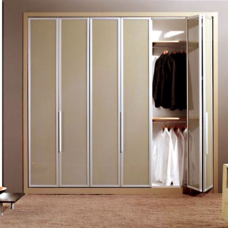 Aries Bi Fold Beige Closet Door 012 Aries Interior Doors