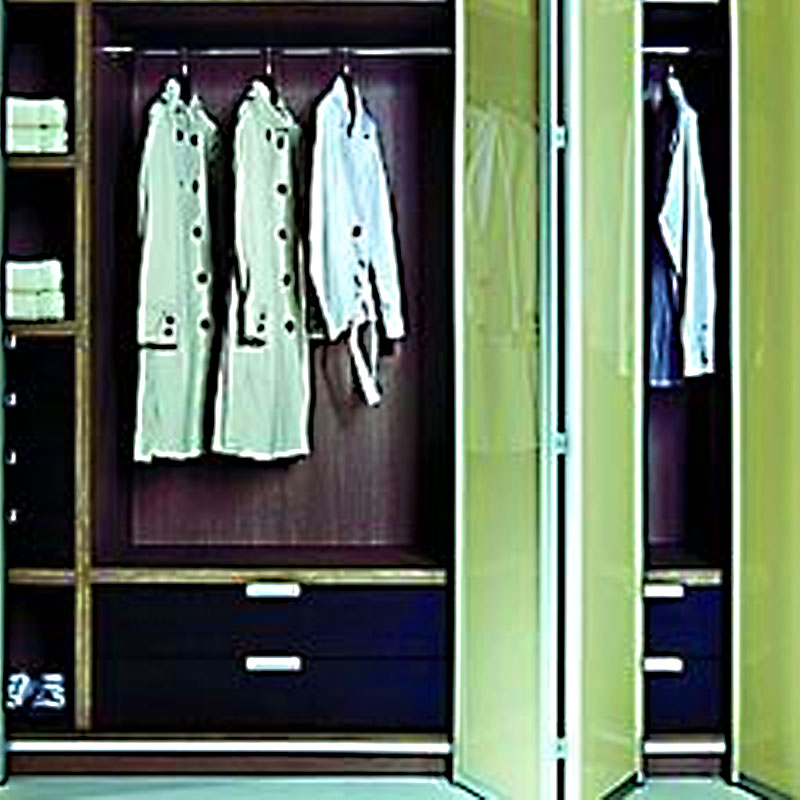 Aries Bi Fold Green Closet Door 009 Aries Interior Doors