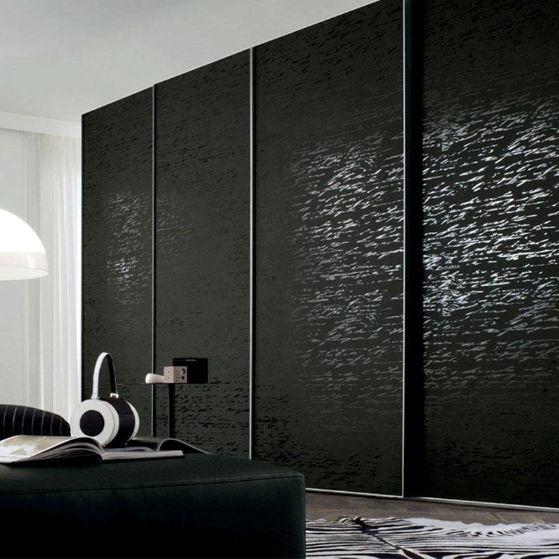 Aries Closet Door Black Csd 40 Acrylic And Mdf Aries Interior Doors