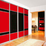 Aries-Closet-Door-Red–and-Black-CSD-37