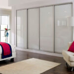 Aries Closet Door White CSD 44 Acrylic