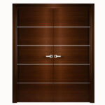 Aries-Mia-Interior-Double-Door-Brown–with-Silver-Strips