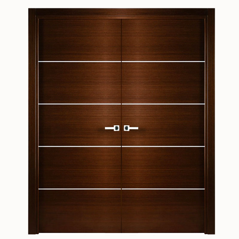 Aries Mia Interior Double Door Brown Wengue Aries Interior Doors