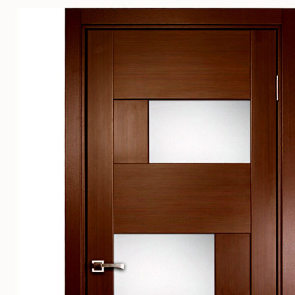 Aries Modern Interior Door With Glass Panels Aries Interior Doors