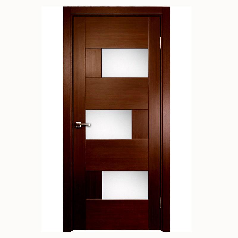 Aries modern interior door with glass panels aries for Glass panel interior door