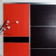 Aries–Closet-Door–Black-and-Red-CSD-511