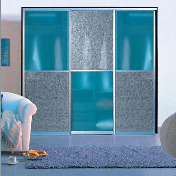 Aries Closet Door Blue CSD 55 Acrylic Mdf