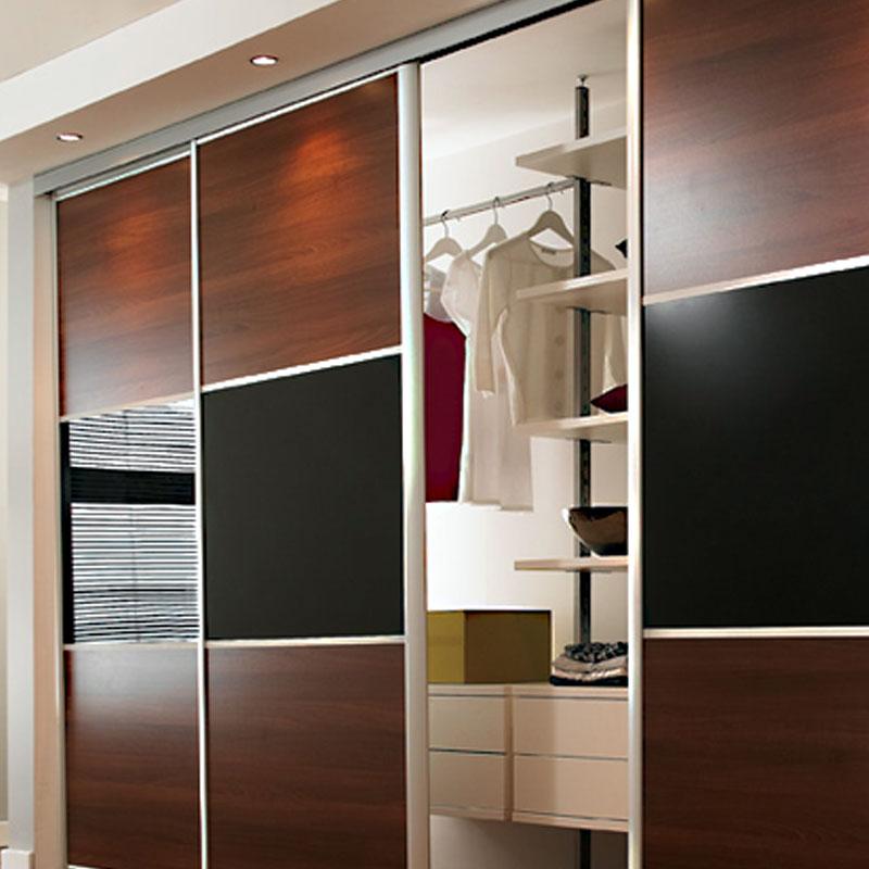 Aries Sliding Door Brown Black Csd 60 Aries Interior Doors
