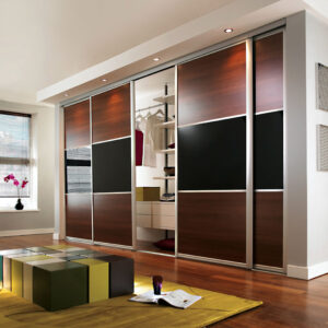 Aries Sliding Door Brown Black CSD 60