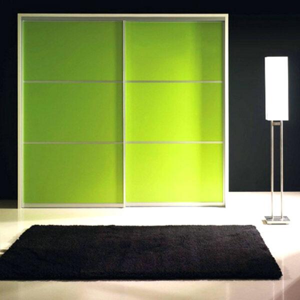 Aries Closet Door Green CSD 50 Acrylic Mdf