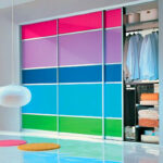 Aries Closet Door Multicolor CSD 53 Acrylic Mdf
