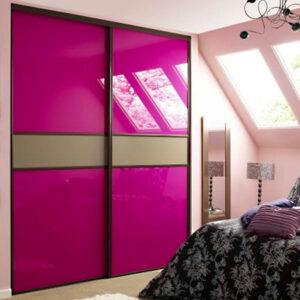 Aries Closet Door Pink CSD 63 Acrylic Mdf
