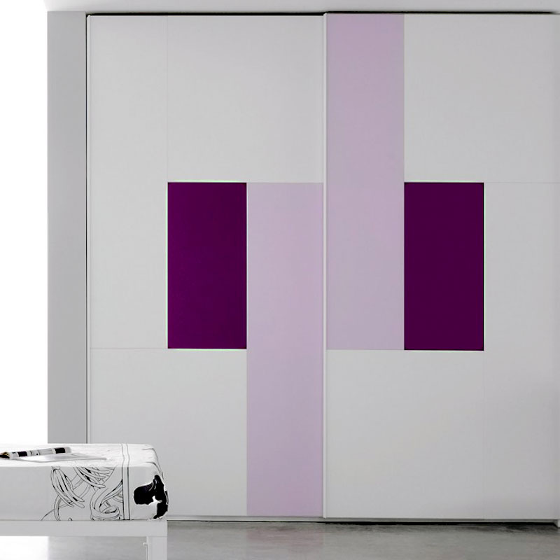 Aries Closet Door White Purple Csd 58 Acrylic Mdf Aries Interior Doors