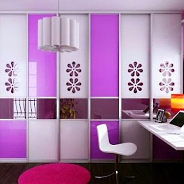 Aries Closet Door Multicolor CSD 62 Acrylic Mdf