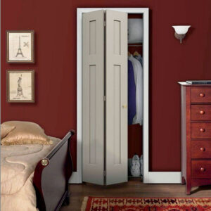 Aries bi-fold white closet door 016