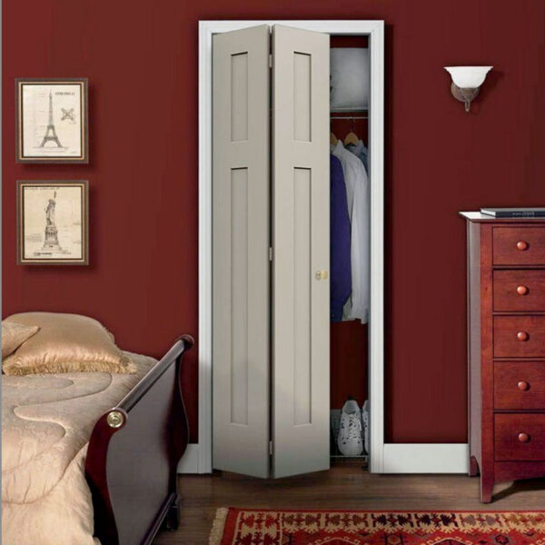 Aries bi-fold white closet door 016