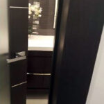 Aries-Mia-AG135-Interior-Door-in-a-Dark-Wenge-Finish-with-Frosted-Glass3